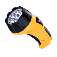 HANDY SPOT FLASHLIGHT RECHARGEABLE E-6630 7LED YELLOW