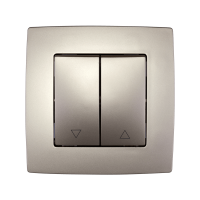 CITY CURTIAN CONTROL SWITCH CHAMPAGNE METALLIC