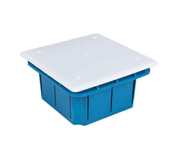 DISTRIBUTION BOX FOR BRICK AND CONCRETE 100x100x50 WITHOUT SCREWS