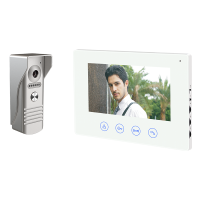 WIFI SMART VIDEO DOOR PHONE WITH FIVE MONITORS